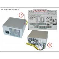 Fujitsu Fonte de Alimentação 500W (34036259, DPS-500XB A, S26113-E567-V50-02, S26113-E567-V50-2)