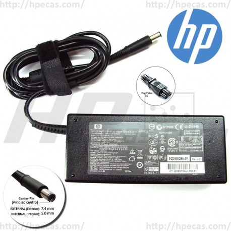 Carregador HP Original 18.5V 6.5A 120W 7.4x5.0mm