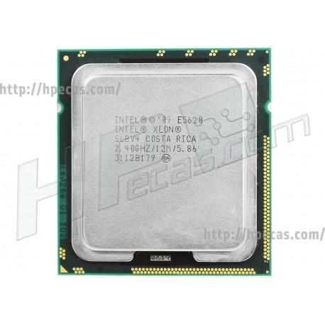 Intel Xeon E5620 Quad-Core 64-bit processor (586641-001, 594887-001, 614732-001) R