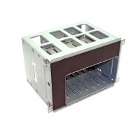 "HP ML350 G , ML370 G5 HDD Cage 8 SAS/SATA 2.5"" SFF com Backplane (389060-001, 499263-001, 511782-001) R"