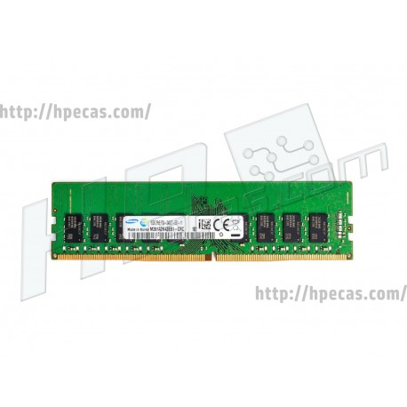 SAMSUNG 16GB (1X4GB) 2Rx8 PC4-19200T-E DDR4-2400 Unbuffered CL17 ECC 1.2V STD (RAM16GB-M391A2K43BB1-CRC)