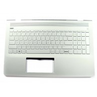 HP PAVILION 15-CC Top Cover with Keyboard PT in Mineral Silver with speaker grille in Natural Silver (920018-131, 928951-131) N