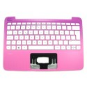 HP STREAM 11-D Top Cover in Orchid Magenta With Keyboard White Std PT (793836-131, 794958-131)