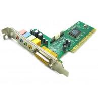 Placa de Som 4.0 C-Media HSP56 PCI Sound Card (CMI8738/PCI-SX) R