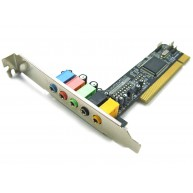 Placa de Som 5.1 SWEEX SC012 PCI Sound Card (PM28738-X2B) R