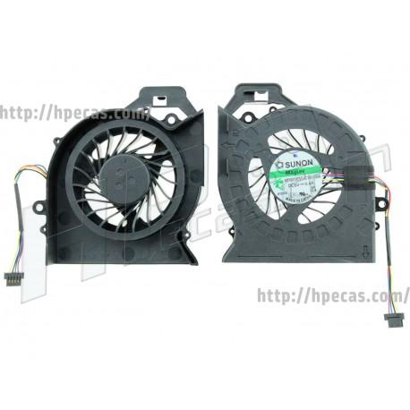 Ventoinha HP DV6-6000, 6100, 6200, DV7-6000 séries