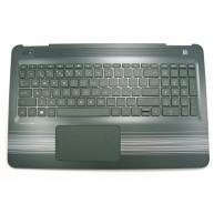 HP TOP COVER com Teclado PT Natural Silver (856026-131, 3FG34TSTP00, HPM14M53P0-920)