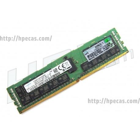 HP SM 32GB (1X32GB) 2RX4 PC4-21300V-R DDR4-2666 Registered CL19 ECC 1.2V STD SmartMemory (850881-001, 815100-B21, 840758-091)