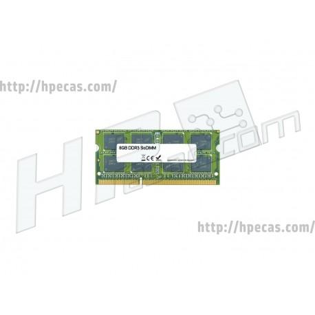 Memória compatível 8GB DDR3L, Sodim, Dual Rank, Non-ECC, Unbuffered, Multispeed 1066/1333/1600 Mhz (MEM0803A) N
