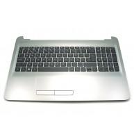 HP Top Cover inclui TouchPad e Teclado PT HP 255-G5 256-G5 15-AY 15-AU 15-AS 15-BA 15-BG (855022-131, PK131O23A16)