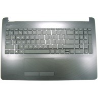 HP 15-BS, 15-BW, 15-RA, 15-RB Top Cover Keyboard without backlight in Pike Silver (925010-131, 9Z.NE1SC.C06, AP204000610, HPM16M63P0-6982, NSK-XDCSC, PK132041E16, PK132043E16) N