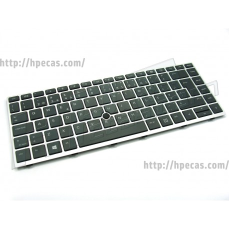 Teclado HP MT44, ElitBook 745 G5, 840 G5 com Backlight (2B-BB615I600, 6037B0142709, L14377-131)