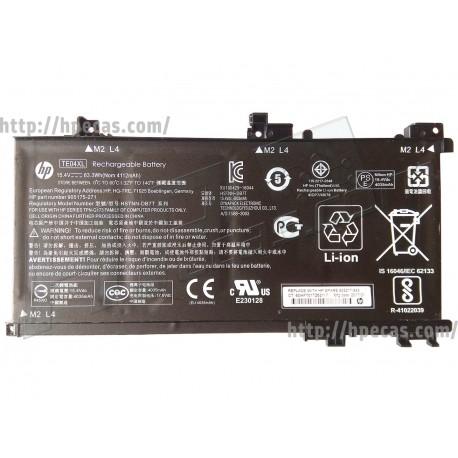 HP Bateria Original TE04XL OMEN 15-AX, PAVILION 15-BC series (905175-271, 905175-2C1, 905277-855, HSTNN-DB7T, TE04063XL-PL)