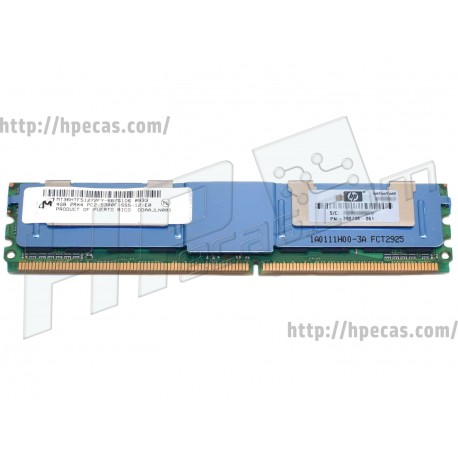 Memória HP 4GB (1x 4GB) 2Rx4 PC2-5300F DDR2-667 FB/ECC CL9 (398708-061, 416473-001) R