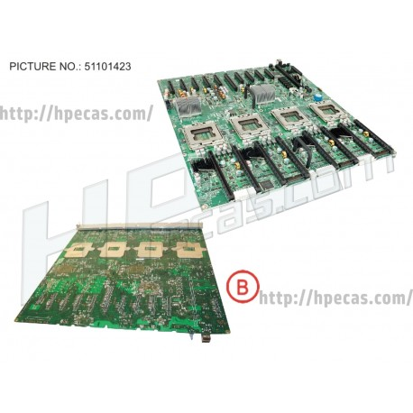 Motherboard for Fujitsu Primergy RX600 S6 (34033759, S26361-D3141-A100, UVR-0BU-0157)