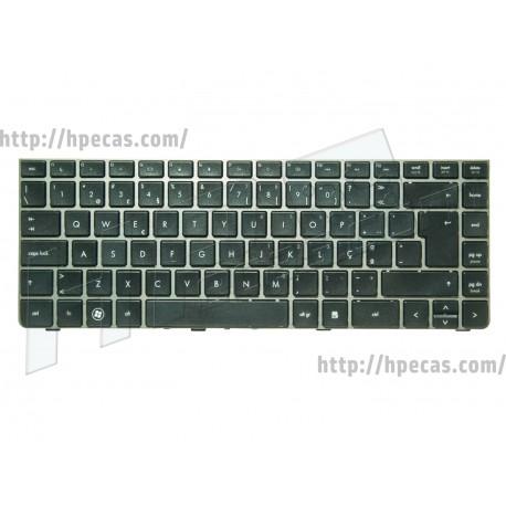 Teclado Cinza PT para HP ProBook 4430s, 4431s, 4330s, 4331s, 4435s, 4436s (638178-131, 646365-131)