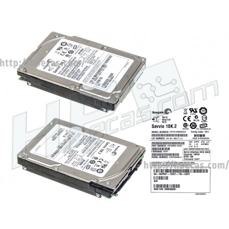 """DELL 146GB 3GB/s 10K SP SAS 2.5"""" SFF HS ENT G9 HDD (NP659, CM318, GP881, HM407, XK112) R"""