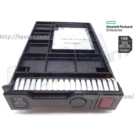 "HPE 600GB 12Gb/s 15K DP SAS 512n 3.5"" LFF HP ENT HDD SCC G8-G10 HDD (765424-B21, 765867-001) R"