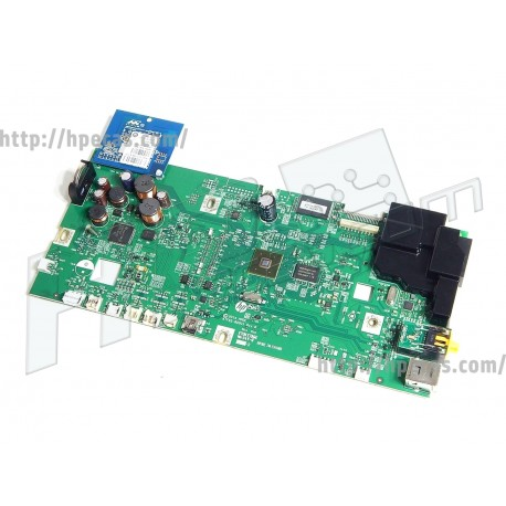 HP OfficeJet Pro 8620 Formatter Circuit Logic Main Board + WiFi Card (A7F65-60001) R