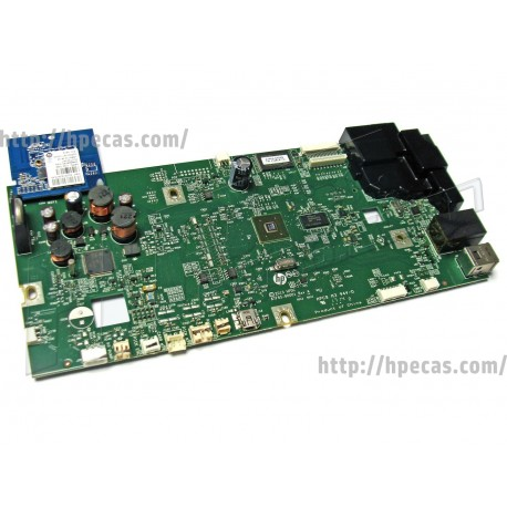 HP OfficeJet Pro 8610 Formatter Circuit Logic Main Board + WiFi Card (A7F64-60001) R