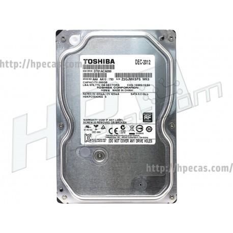 """TOSHIBA 500GB 6GB/s 512 SATA III 3.5"""" LFF HDD (DT01ACA050)"""