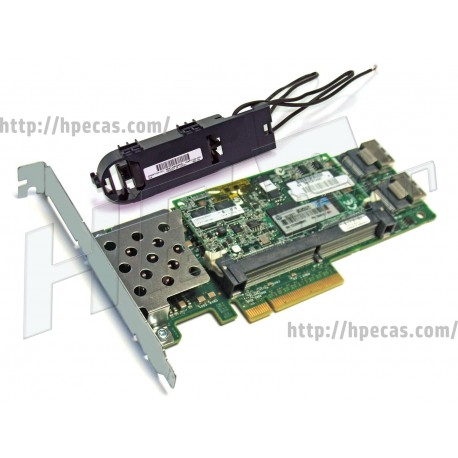 HPE Kit Smart Array P410/512MB FBWC 2-Ports Int PCIe X8 SAS Controller Board (578230-B21)