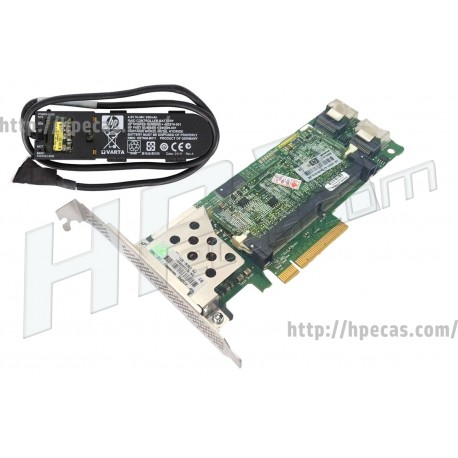 HPE Kit Smart Array P410/512MB FBWC 2-Ports Int PCIe X8 SAS Controller Board (462864-B21) R