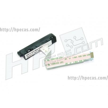 Cabo e Adaptador HDD HP ENVY 15-J0, 15-J1 séries (723376-001, 723379-001)
