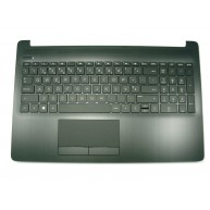 HP Top Cover Jet Black c/TouchPad e Teclado s/Backlight PT HP 15-DA, 15-DB (L24637-131, L20386-131, V162602IS1, PK1329I5C16)