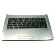 HP Top Cover Turbo Silver com Teclado (858078-131) N