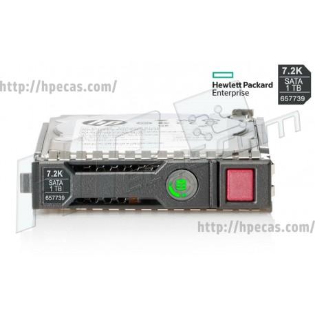 HPE 1TB 7.2K 6Gb/s SATA LFF HP 512n MDL SC HDD - Not for MSA (657739-001, 657750-B21, 657750-S21, 657750-TV1) R
