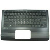 HP PAVILION 11-U0, 11-U1 Top Cover c/Teclado Portugues s/TouchPad c/Backlight Natural Silver (856071-131)