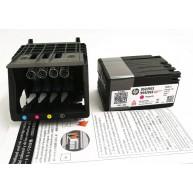 HP Cabeçote de Impressão com Tinteiros Setup 4 cores (M0H90A, M0H91A) N