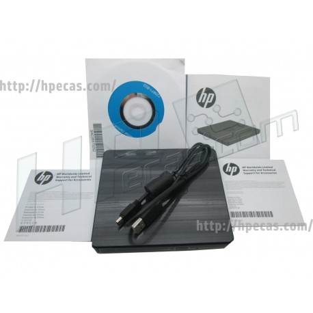 HP USB External DVDRW Drive GP70N (F2B56AA, 747080-001)
