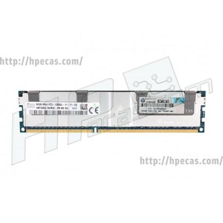 HPE 64GB (1x64GB) 8Rx4 PC3-12800L-11 ECC LRDIMM 1.5V SmartMemory 240-pin Dimm STD (700838-B21, 754919-001, 701807-081, 700838-S21)