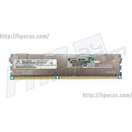 HPE 32GB (1x32GB) 2Rx4 PC3-10600H-9 HDIMM 1.5V SmartMemory 240-pin Dimm (715166-B21, 717901-001, 716112-081)