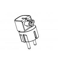 HP Duck Head Branco adaptador para usar na Europa (854703-002, L37130-001)
