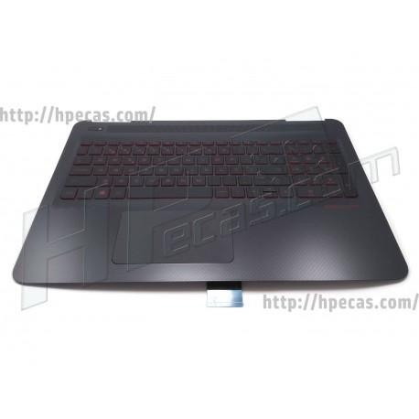 HP OMEN 15-AX Top Cover com Teclado Português Backlit Dragon Red (859735-131)