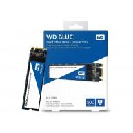 WD 500GB TLC 6Gb/s SATA M.2-B+M-2280 NHP 512n WD Blue RW SSD (WDS500G2B0B) N