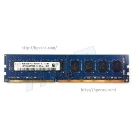 Memória OEM 4GB (1x 4GB) 2Rx8 PC3-10600 DDR3-1333 ECC CL9 (500672-B21, 501541-001, 500210-071) (R)