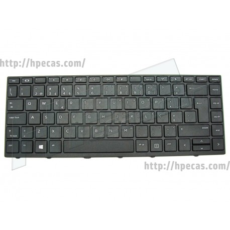 Teclado PT sem Backlight para HP ProBook 430 G5, 440 G5, 450 G5 (L01072-131)