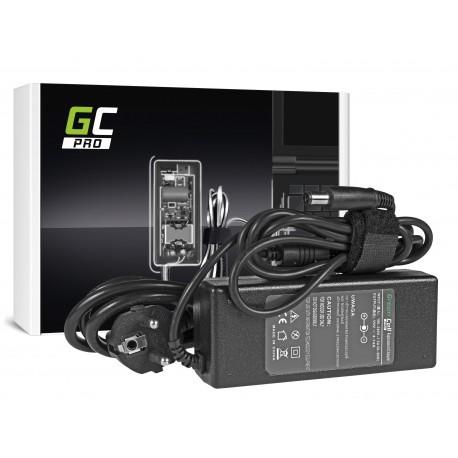 Green Cell PRO Carregador para HP Envy Pavilion DV4 DV5 DV6 Compaq CQ61 CQ62 90W 19V 4.74A 7.4x5.0mm 11mm Pin (AD15P)