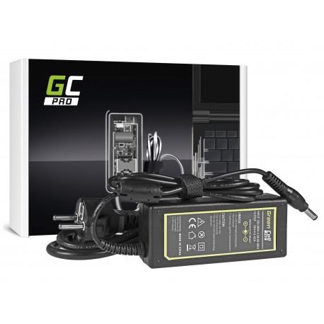 Green Cell PRO Carregador - AC Adapter para Toshiba Satellite C650 C660D L750 Asus X550C X550V R510 Lenovo G530 19V 3.42A 5.5x2.5mm (AD25P)