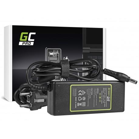 Green Cell PRO Carregador - AC Adapter para Asus K50IJ K52 K52J K52F X53S K53S X54H X54C Toshiba Satellite A200 A300 19V 4.74A 5.5 x 2.5mm (AD27AP)