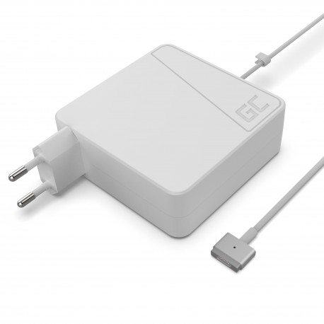 Green Cell Carregador AC Adapter para Apple Macbook 85W - 18.5V 4.6A - Magsafe 2 (AD55)
