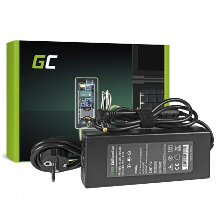 Green Cell Carregador AC Adapter para Acer 120W - 19V 6.32A - 5.5-1.7mm (AD89)