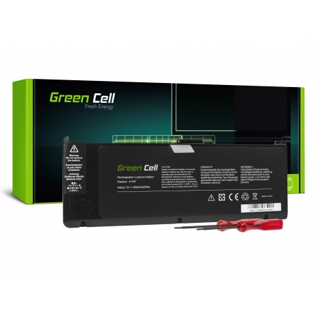 Green Cell A1309 Laptop Bateria para Apple MacBook Pro 17 A1297 (Early 2009, Mid 2010) (AP26)