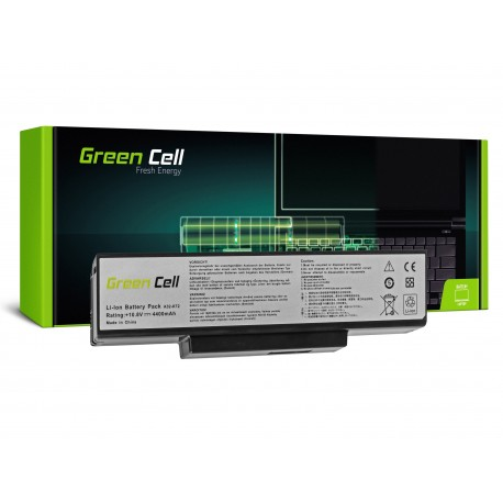 Green Cell Bateria para Asus A32-K72 K72 K73 N71 N73 - 11,1V 4400mAh (AS06)