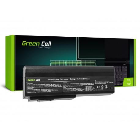 Green Cell Bateria para Asus A32-M50 A32-N61 N43 N53 G50 L50 M50 M60 N61VN - 11,1V 6600mAh (AS09)
