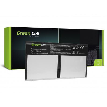 Green Cell Bateria para Asus Transparamer Book T100H T100HA - 3,8V 7800mAh (AS108)